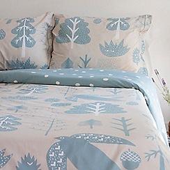 Donna Wilson - Aqua 'Flying bird' bedding set