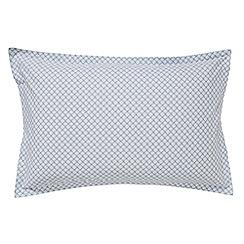 Murmur - Pale green 'Sora' oxford pillowcase