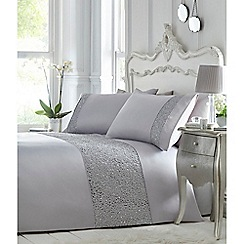 Star by Julien Macdonald - Grey 'Sabrina' bedding set