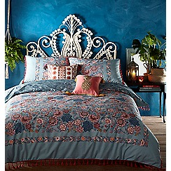 MW by Matthew Williamson - Multicoloured 'Teal Peacock' Bedding set