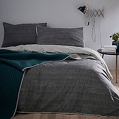 Home Collection - Black 'Joseph' Bedding Set
