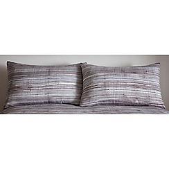 RJR.John Rocha - Blue 'Paloma' Standard pillowcase pair