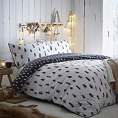 Home Collection - White 'Nordic Nights' Bedding set