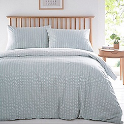 Home Collection Basics - Sage green 'Elise' bedding set
