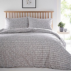 Home Collection Basics - Grey 'Lena' bedding set