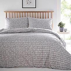 Debenhams - Grey 'Lena' bedding set