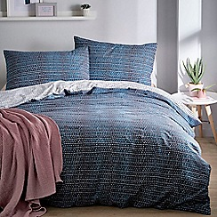 Home Collection Basics - Blue 'Emiko' bedding set