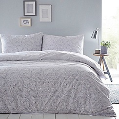 Home Collection Basics - Blue 'Melody' bedding set