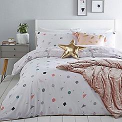 Home Collection - Multicoloured 'Evie' bedding set
