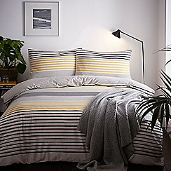J by Jasper Conran - Natural 'St Pauls' Duvet Cover