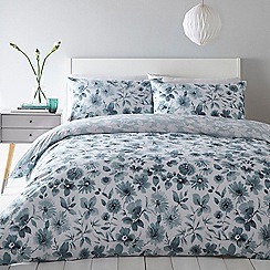 Home Collection - Teal 'Faye' Bedding Set