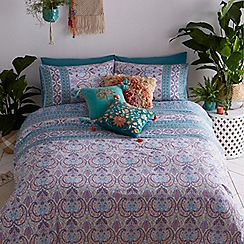 MW by Matthew Williamson - Multicoloured 'Festival Paisley' bedding set