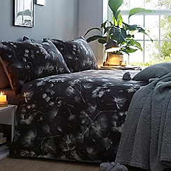 Debenhams - Black 'Nordic Pine' bedding set
