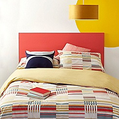 Home Collection - Multicoloured 'Ingvar' Reversible Duvet Set