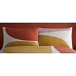 J by Jasper Conran - Multicoloured 'Barcelona' Pillowcase Pair