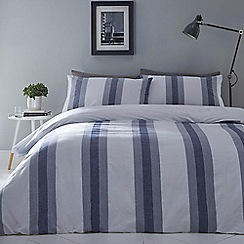 Debenhams - White 'Jack' duvet set
