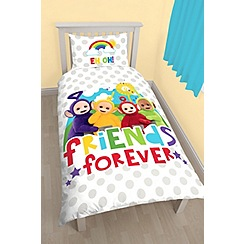 Teletubbies - Multicoloured 'Teletubbies Duvet' single bedding set