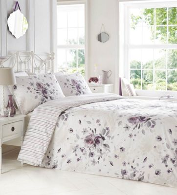 home decorators collection quilt set home collection white printed floral bedding 12876