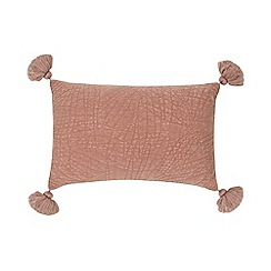 Home Collection - Pink velvet cushion