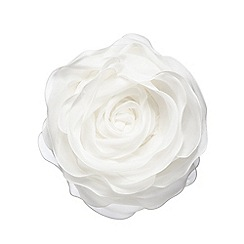 Star by Julien Macdonald - White rose cushion