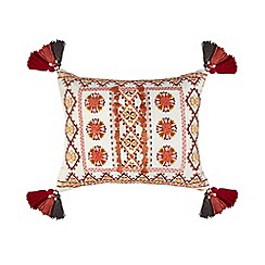 Butterfly Home by Matthew Williamson - Multi-coloured crewel cushion