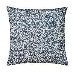 Murmur - Blue 'Aerial' cushion