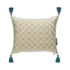 MW by Matthew Williamson - Gold Embroidered Cushion