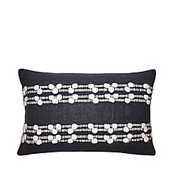 FatFace - Grey 'Sai' Rectangle Cushion