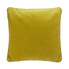 MW by Matthew Williamson - Lime textured cushion