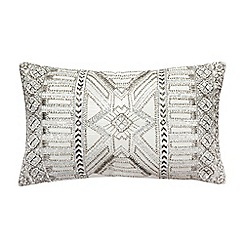 Star by Julien Macdonald - Silver beaded cushion