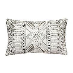 Star by Julien Macdonald - Silver beaded cushion