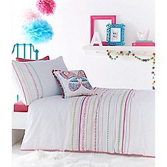 bluezoo - Kids' Tilly embroidered bedding set