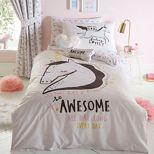 bluezoo multicoloured awesome unicorn bedding set - Unicorn Bedding