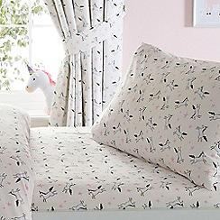 bluezoo - Awesome unicorn fitted sheet set