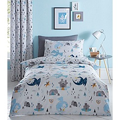 bluezoo - Kids' Knights and dragons duvet set