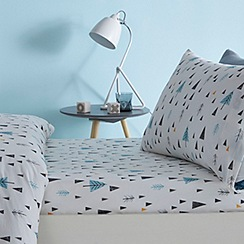 bluezoo - Kids' Knights and dragons fitted sheet set