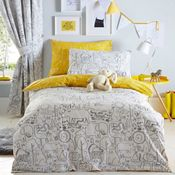 Ben de lisi home multicoloured printed world explorer bedding set bluezoo multicoloured scribble sketchy animal bedding set gumiabroncs Choice Image