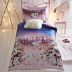Baker by Ted Baker - Multicoloured 'Swans' bedding set