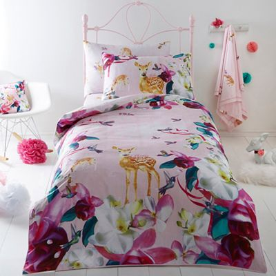 Kids bedroom kids debenhams baker by ted baker multicoloured deer bedding set gumiabroncs Image collections