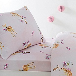 Baker by Ted Baker - Multicoloured 'Deer' fitted sheet set