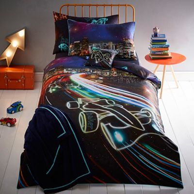 Kids bedroom kids debenhams baker by ted baker blue cars bedding set gumiabroncs Image collections