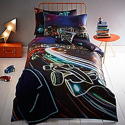 Baker by Ted Baker - Blue 'Cars' bedding set