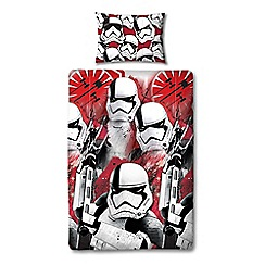 Star Wars - EP8 trooper duvet set