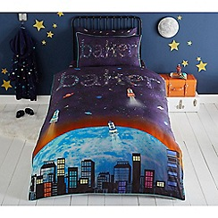 Baker by Ted Baker - Multicoloured 'Rocket' bedding set