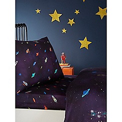 Baker by Ted Baker - Multicoloured 'Rocket' fitted sheet set