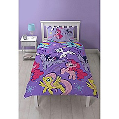 Character World Kids - Lilac 'My Little Pony Movie Adventure' bedding set