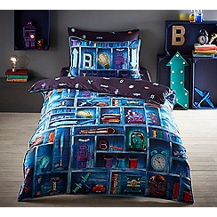 Baker by Ted Baker - Multicoloured 'Cabinet of curiosities' duvet cover set