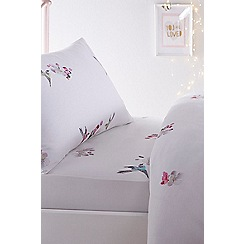 Baker by Ted Baker - Pink 'Flight of the orient' fitted sheet set