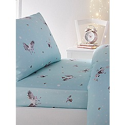 Baker by Ted Baker - Multicoloured 'Enchanted dream unicorn' fitted sheet set