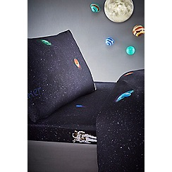 Baker by Ted Baker - Multicoloured 'Astronaut' fitted sheet set